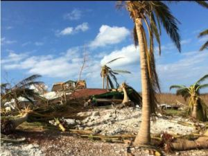 A home on Long Island destroyed by Hurricane Joaquin. Photo courtesy Pathfinders