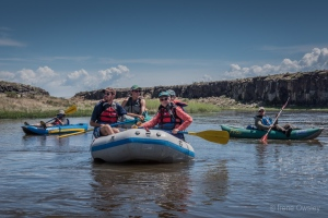 Conejos Clean Water (Trinchera Blanca Foundation grantee) 2016 rafting trip on the Rio Grande.