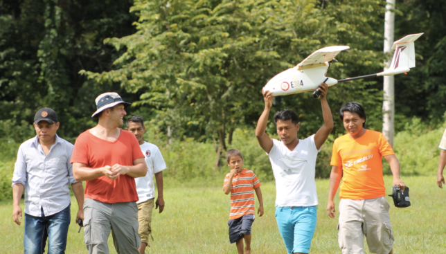 With help from The Rainforest Foundation, drones are changing how indigenous communities in Panama take control of their lands and forests.